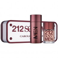 212 Sexy Men Eau De Toilette 100ml + After Shave 100ml
