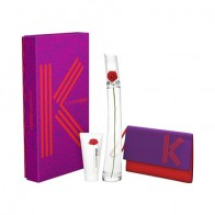 Flower by Kenzo Eau de Parfum 100ml + Body Lotion 50ml + Pouche