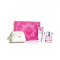 Bright Crystal Eau de Toilette 90ml + Body Lotion 100ml + White Cosmetic Kit