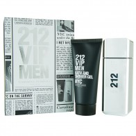212 VIP Men Eau de Toilette 100ml + Shower Gel 100ml