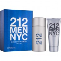212 Men Eau De Toilette 100ml + After Shave Gel 100ml
