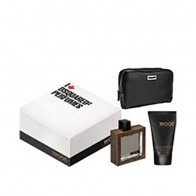 He Wood Intense Eau de Toilette 50ml + Shower Gel 100ml + Pouch