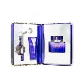Versus Eau de Toilette 50ml + 50ml Body Lotion + Key Ring
