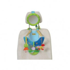 Toy Car - Spending Frog With Rearview Mirror