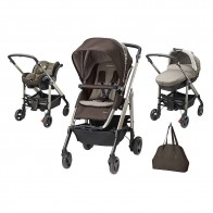Bebe Confort Stroller Trio Loola Excel 3 in 1 Earth Brown
