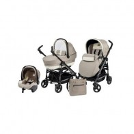 Peg Perego 3 in 1 Pliko Switch Four Completo Avana