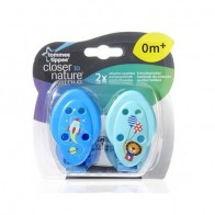 Tommee Tippee Closer to Nature Blue Port Pacifier
