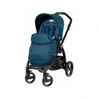 Peg Perego BOOK Black Completo Saxony Blue