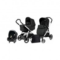 Peg Perego 3 in1 Book Plus S Black&White POP-UP Onyx