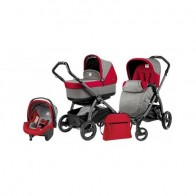 Peg Perego 3 in1 Book Plus S Black POP-UP Tulip