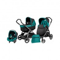 Peg Perego 3 in1 Book Plus S Black POP-UP Aquamarine