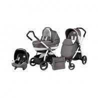 Peg Perego 3 in1 Book Plus S Black&White Black Completo SL Piccadilly
