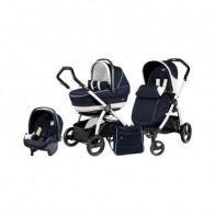 Peg Perego 3 in1 Book Plus S Black&White Black Completo SL Luna