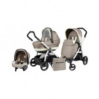Peg Perego 3 in1 Book Plus S Black&White Black Completo SL Avana