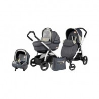 Peg Perego 3 in1 Book Plus S Black&White Black Completo SL Denim