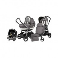 Peg Perego 3 in1 Book Plus S Black Completo SL Piccadilly