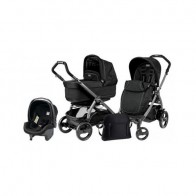Peg Perego 3 in1 Book Plus 51 Black POP-UP Onyx