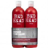 Tigi Bed Head Urban Anti-Dotes Resurrection Shampoo 750ml + Conditioner 750ml