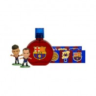 FC Barcelona Eau de Toilette 50ml + Stickers + Neymar & Iniesta Figurines