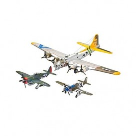 Gift Set Flying Legends 8th USAAF (B-17G, P-47D, P-51B)