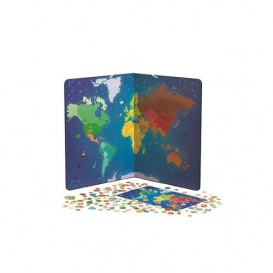 Animal Magnetic World Map