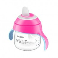 Philips Avent Transparent Spout Pink Cup 200ML