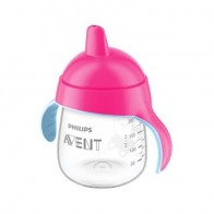 Philips Avent Transparent Spout Pink Cup 260ML