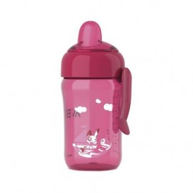 Fast Flow Spout Pink Cup 340ML