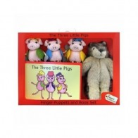 The Puppet Company Finger Puppets - The Three Little Pigs