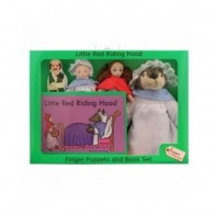The Puppet Company Finger Puppets - Little Red Riding Hood