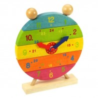 Big Jigs Rainbow Clock