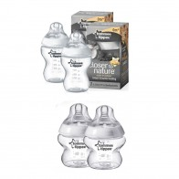 Tommee Tippee Closer To Nature PROMO Pack 2 Bottles 260ML With 2 x 150ML FREE
