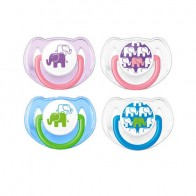 Philips Avent Fashion Pacifiers Orthodontic 6 -18 Months 2 Pack
