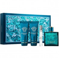 Versace Eros Eau de Toilette 100ml + Shower Gel 100ml + After Shave Balsam 100ml + Eau de Toilette 10ml