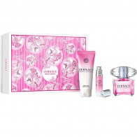 Versace Bright Crystal Eau de Toilette 90ml + Body Lotion 100ml +  Eau de Toilette 10ml