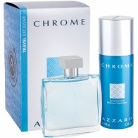 Chrome Eau de Toilette 100ml + Deodorant Spray 150ml